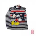 Camiseta de rayas Mickey