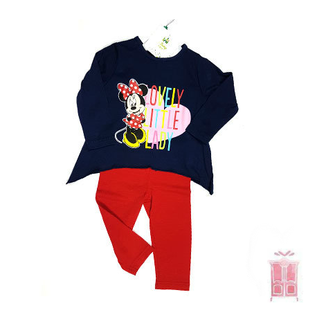 Conjunto con leggings Minnie