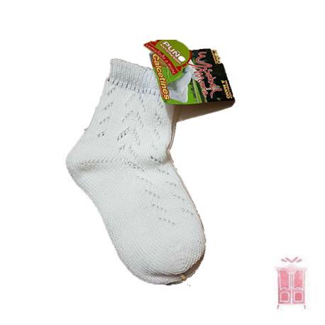 Calcetines calados de perlé