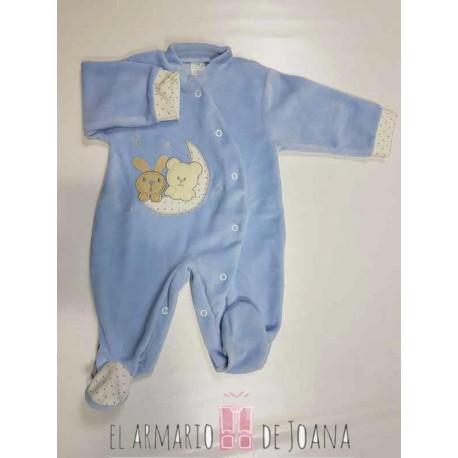 Pijama primeras puestas 0 a 2 meses.