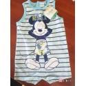 Pijama corto estampado de Mickie